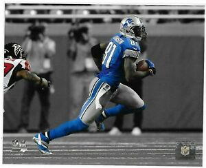CALVIN JOHNSON – DETROIT LIONS NFL LICENSED 8x10 ACTION PHOTO