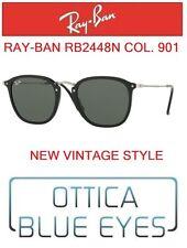 Occhiali da Sole RAYBAN RB 2448N col. 901 Sunglasses Ray Ban FLAT LENSES NEW
