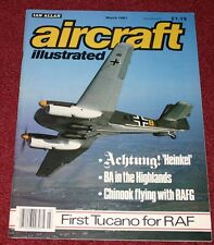 Aircraft Illustrated 1987 March Boeing 247,BA Highlands,RAFG Chinook