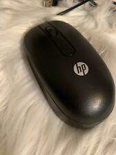 Genuine Hp Usb Optical Mouse 672652-001 Black Wired - 2 Button Scroll