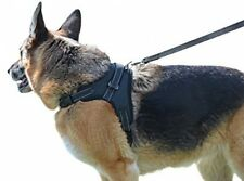 German Shepherd Harness And Leash No Choke Pull Slip Adjust Collar Dog Training