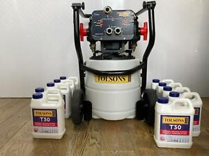 Tolsons PROJET30T - With Wheels Central Heating Power Flush + 10 x T30 Cleaners