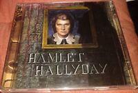 JOHNNY HALLYDAY TRES RARE DOUBLE CD HAMLET EDITION 2000 BOITIER CRISTAL