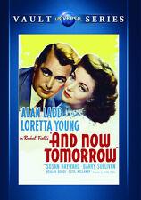 And Now Tomorrow 1944 (DVD) Alan Ladd, Loretta Young, Susan Hayward - New!