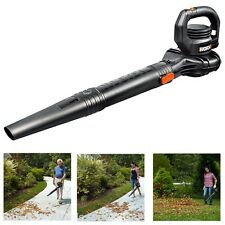 Electric Leaf Blower 7.5 AMP 2 Speed Hand-Held Sweep Lawn Yard Power Corded New