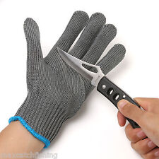 Steel Wire Fishing Fillet Glove Cut Resistant Thread Weave Tool Glove- A piece