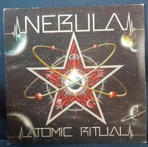 NEBULA Atomic Ritual LP VG+/NM-  stoner rock Fu Manchu OG vintage heavy rock