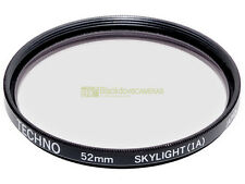 52mm. filtro Skylight 1A Techno. Sky light filter.
