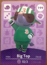 *New* Nintendo Animal Crossing Card #199 Big Top Us Version Series 2