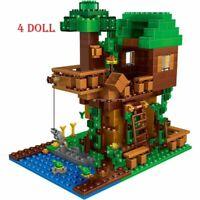 Lego Minecraft The Tree House Small Building Blocks Sets 250pcs