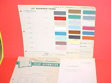 1957 OLDSMOBILE SUPER 88 HOLIDAY COUPE 98 STARFIRE CONVERTIBLE PAINT CHIPS +