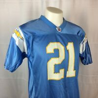San Diego Chargers LaDainian Tomlinson Jersey #21 Reebok Blue Youth XL (18-20)