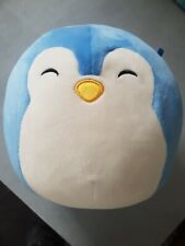 Squishmallows puff Penguin Soft Toy Plush 7.5 Inches Blue
