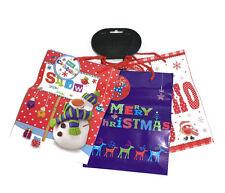 Gift Bags Signature Pack of 3 Christmas Bag Packaging Xmas Paper Bags