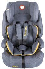 Fotelik samochodowy Lionelo Nico Yellow Grupa I /II /III (9 do 36 kg)
