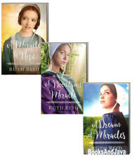 Amish Wonders 1-3 Miracle of Hope,Woodland Miracle+ by Ruth Reid (paperback) NEW