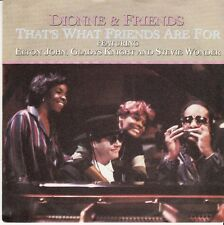 45 T SP DIONNE WARWICK & FRIENDS (ELTON JOHN GLADYS KNIGHT STEVIE WONDER)