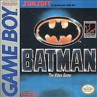 BATMAN THE VIDEO GAME GAME BOY COSMETIC WEAR