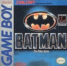 BATMAN THE VIDEO GAME GAME BOY COSMETIC WEAR