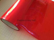 Headlight Tint Film 50cmx30cm RED Polyurethane Waterproof Self Adhesive New