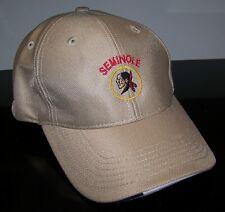NEW Imperial SEMINOLE GOLF CLUB Embroidered Logo Cap Hat Adjustable Tan Beige