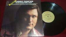 JOHNNY DUNCAN - YOU'RE GONNA NEED A MAN - 1973 HARMONY HEADLINER SERIES RECORDS