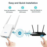 Répéteur WiFi AC1200 Amplificateur signal routeur sans fil double bande 5G 2.4G