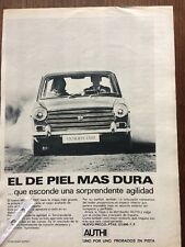 Publicidad automovil Morris 1300 de Authi Leyland