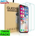 Tempered Glass Screen Protector For Apple iPhone 8 - 100% Genuine <br/> Same day Dispatch✔ 99.5% Positive feedback✔ Twin Pack✔