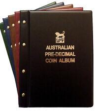 VST Australian Pre Decimal Coin Collection Album 1910 - 1964
