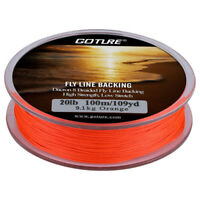 Fly Fishing Backing Line 20LB 8Strands 100M/109yds Dacron Braided Sinking Line