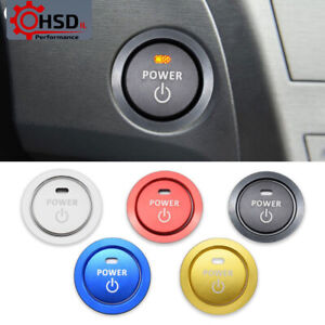 Engine Start Stop Ignition Button Ring For Toyota Corolla Camry RAV4 Auris C-HR