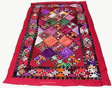 antik orient Usbek Seide wandbehang Suzani Patchwork decorativ tribal textile 56