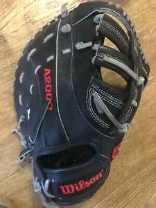 """2020 Wilson A2000 12.25"""" SuperSkin Baseball First Base Mitt - Needs Repair"""
