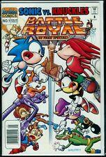 Archie Comics SONIC vs KNUCKLES BATTLE ROYAL #1 VFN/NM 9.0
