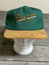 Vintage Snapback Trucker Hat Snap On K Products Leather Bill