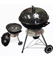 Bouilloire Barbecue BBQ Extérieur Anthracite Patio Party Portable Rond Standard
