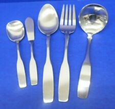 5 - Oneida Community PAUL REVERE Satin Stainless Flatware HOSTESS SERVING PIECES