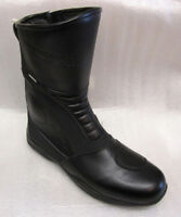 Richa Zenith Leather Motorcycle Boots EU 42 UK 8 WATERPROOF Hipora