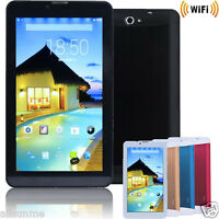 7 inch HD Dual SIM WIFI Bluetooth Camera 3G Dual Core 4GB Android Tablet PC Lot
