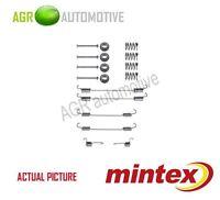 MINTEX REAR BRAKE SHOES SET FITTING KIT PIN SPRINGS GENUINE QUALITY - MBA750