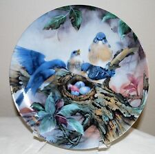 "1989 ""Song of Promise"" by Lena Liu Plate-Nature's Poetry Series w/COA 1989"