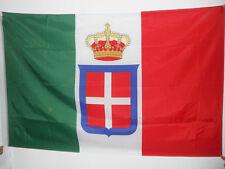 BANDIERA REGNO D'ITALIA CORONA 150x90cm - BANDIERA REALE ITALIANA 90 x 150 cm fo