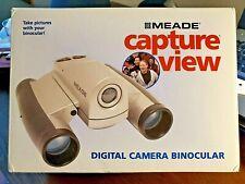 Meade Capture View 8X22 Binocular Digital Camera Nib New Sealed