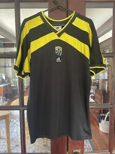 1996 1997 Columbus crew soccer jersey adidas large mls usa usl nasl