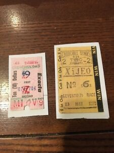 Vintage Early Churchhill Downs Horse Race Tickets