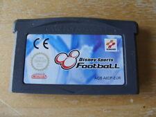Nintendo Game Boy Advance - DISNEY SPORTS FOOTBALL - CARTRIDGE ONLY -FREE UK P&P