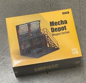 JAN218264: JOYTOY 1/18 scale Mecha Depot: Weapon Section Diorama