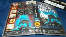 AN AMERICAN WEREWOLF IN PARIS VHS PAL DOUBLE SIDED SLEEVE