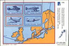 Finland Blok 4 (compleet.Kwestie.) First Day Cover 1988 FINLANDIA`88
